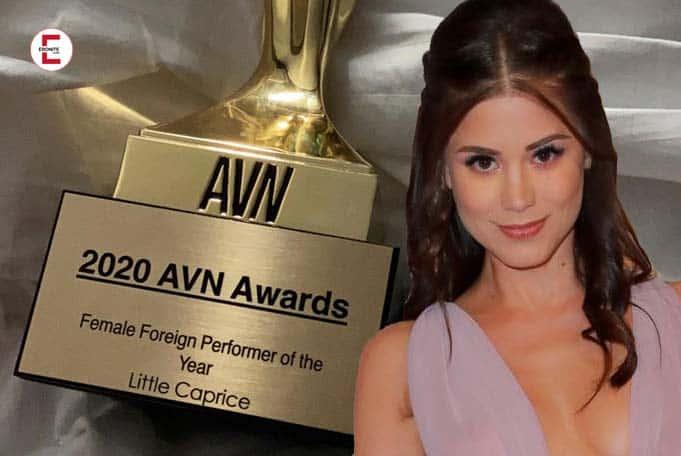 Sexy importación de la República Checa: Little Caprice gana los premios AVN