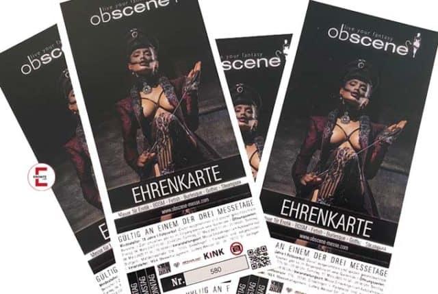 Verlosung: 4 x 1 Freikarte für die Fetischmesse obscene 2020