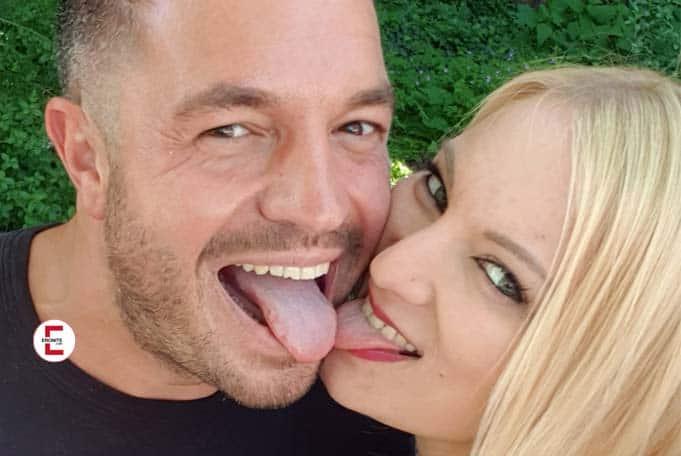 La pareja de porno Kitty Blair y Andy Star en una entrevista