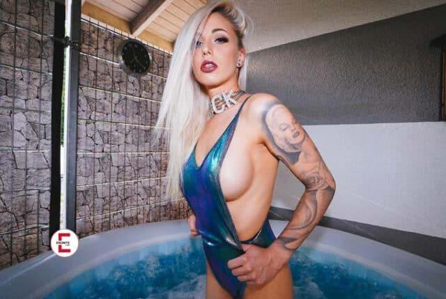 La estrella del porno se reinventa a sí misma: Lucy Cat se convierte en Just Lucy