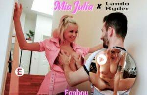 Como un fanboy con Mia Julia tiro porno