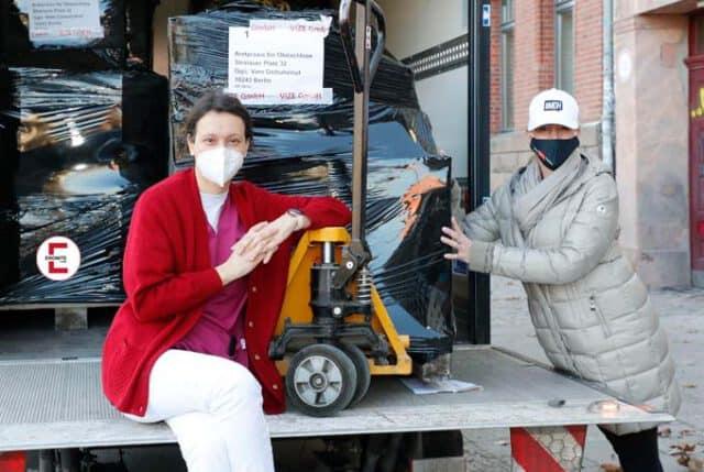 Acción benéfica en Berlín: MyDirtyHobby ayuda a los sin techo