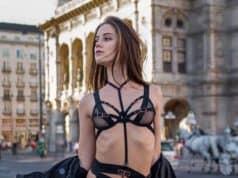 Pornostar Little Caprice - Fotoshooting mitten in Wien
