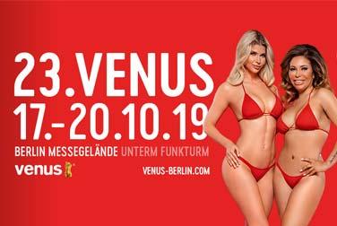Nur noch 3 Monate bis zur VENUS in Berlin