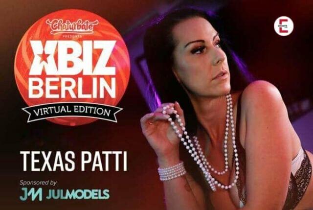 Texas Patti representa a los Premios XBIZ 2021 Europa